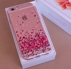 Imagen de iphone, pink, and case