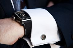 cufflink...showing way too much cuff but i still like
