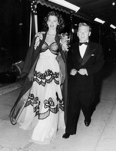 Ava Gardner and first husband Mickey Rooney, 1940s