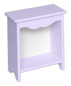 Look what I found on #zulily! Lavender Toddler Bedside Stand #zulilyfinds