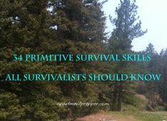 34 Primitive Survival Skills All Survivalists Should Know