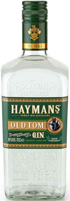 Haymans Old Tom Gin - The Distinguished Gin of the Victorian Era