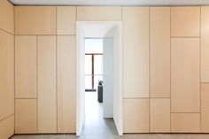 Discover recipes, home ideas, style inspiration and other ideas to try. Plywood Interior, Plywood Walls, Plywood Cabinets, Built In Storage, Tall Cabinet Storage, Interior And Exterior, Interior Design, Built In Furniture, Bedroom Wardrobe