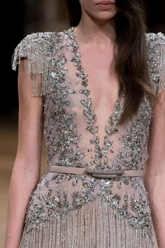 Ziad Nakad at Couture Fall 2016 - Details Runway Photos Source by vettfam outfits indian Fashion Now, Fashion Details, Fashion Outfits, Fashion Design, Fall Fashion, Beautiful Dresses, Nice Dresses, Amazing Dresses, Transparent Dress