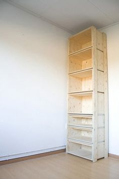 Storage, Bookcase, Shelves: great idea for extra tall bookshelves to utilize my 10 ft. ceilings!