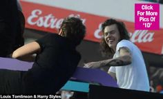 Harry Styles & Louis Tomlinson Share Sweet Moment On Stage: 'Larry' Fans Freak —Video