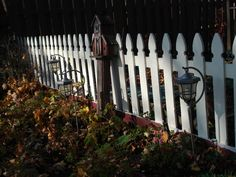 My white picket fence