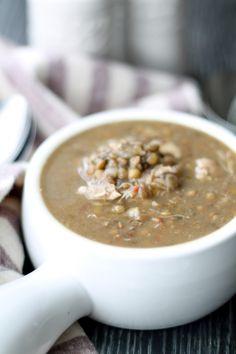 Instant Chicken & Lentil Soup