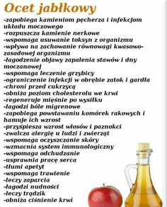 Ocet jabłkowy zalety Healthy Juice Drinks, Healthy Juices, Detox Drinks, Healthy Beauty, Healthy Tips, Health And Beauty, Nutrition Tips, Health And Nutrition, Health Diet