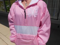 Nice Price - Windbreaker Pullover Striped Font Shown Font by MONOGRAMSINC