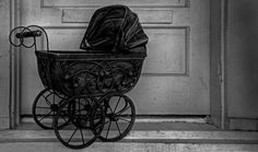 Antique Baby Buggy by Ron Pniewski
