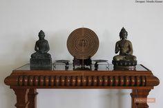 Buddha Decor, Entryway Tables, Blog, Furniture, Home Decor, Decoration Home, Room Decor, Blogging, Home Furnishings