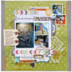 July Cocoa Daisy kit: Kim Watson+His emerging passion