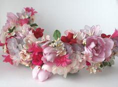 Floral crown / Les Papillons de Leticia