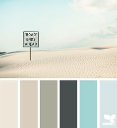 Latte, aqua and teals love these peaceful colors