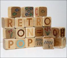 Retro blocks, Õpi Lugema ja Arvutama - 70-luvulta päivää !