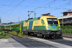 Trains and locomotive database and news portal about modern electric locomotives, made in Europe. Electric Locomotive, Bahn, Commercial Vehicle, Hungary, Taurus, Engineering, World, Vehicles, Old Trains