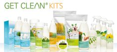 Safe, clean and green!  I love these Shaklee cleaning products!!