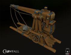 Trebuchet, Bryan Panting on ArtStation at https://www.artstation.com/artwork/trebuchet