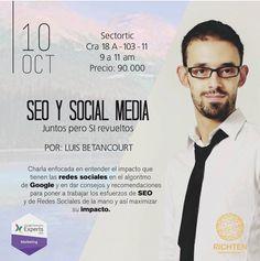 Grupo Richten, te invita a conocer y desarrollar tu marca en los medios digitales #SEO #marketing.... síguenos en Facebook y el linkeind .