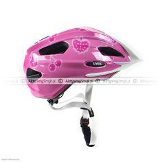 Kask dla dziecka Uvex Quatro Junior Cherry-Rose Bicycle Helmet, Cherry, Rose, Hats, Pink, Hat, Cycling Helmet, Prunus, Roses