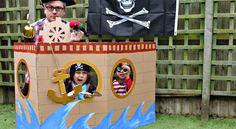 Fabriquez votre propre bateau pirate! Photo booth – photomaton en prime!