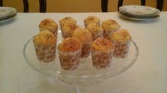 Mini cupcakes al salmone e parmigiano