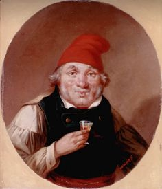 """A Habitant Drinking"" by Cornelius Krieghoff Hunt Costume, Sainte Foy, William Hogarth, Thirty Two, Seven Years' War, Fur Trade, British Soldier, Cornelius, Expo"