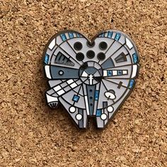 Love at Lightspeed- Hard Enamel Pin https://www.lanternpins.com/collections/galatic-pins