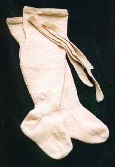 Hand Knit Hose