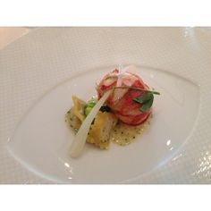 Poached Lobster at French Laundry