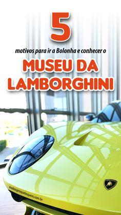 Bolonha, Itália é uma referência no mundo automobilístico. Nós visitamos o museu da Lamborghini e trazemos 5 motivos pelos quais você deve ir ver de perto os carros da marca italiana. #italia #carros Cinque Terre, Amalfi Coast, Lamborghini, Travel Around The World, Around The Worlds, Eurotrip, Traveling By Yourself, Travel Inspiration, Cool Pictures
