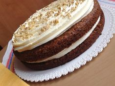 Mrkvový dort s ořechy Vanilla Cake, Cheesecake, Cupcakes, Sweets, Food, Cupcake Cakes, Gummi Candy, Cheesecakes, Candy