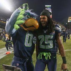 seattle seahawks mascot | Seahawks CB Richard Sherman's suspension appeal is Friday - Seattle ...