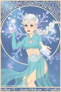 FRotIBTD Magical Elf Maker: Elsa