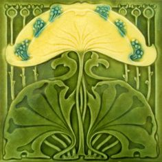 Marsden c1902 - Art Nouveau Tiles