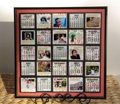 Elevated Grid Calendars  By Virginia Nebel