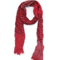 Weekday Scarf (Red), NYT 3€ (norm. 4,90€)