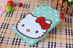 Silicone slim Cartoon protective case with cute Hello Kitty pattern for
