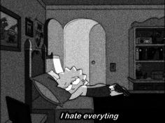 Sad and me :) Mood Wallpaper, Wallpaper Iphone Cute, Disney Wallpaper, Cartoon Wallpaper, Wallpaper Quotes, Cute Wallpapers, Simpsons Quotes, Cartoon Quotes, The Simpsons