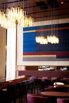 Restaurant interior Contemporary decor