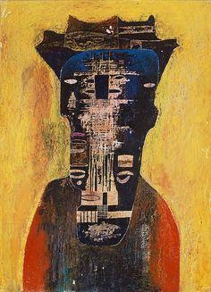 rubenslp:  Beksinski, Zdzislaw (1929-2005) - 1958 Untitled