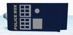 3D printed TARDIS Money Clip
