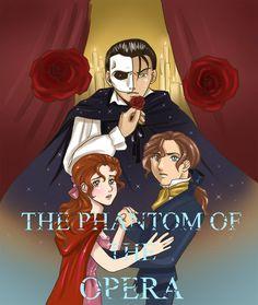 Phantom Of The Opera by jezebel-polizia.deviantart.com