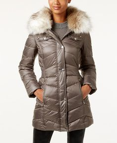 119.99$  Buy now - http://vinkk.justgood.pw/vig/item.php?t=al9th012787 - Faux-Fur-Trim Hooded Puffer Coat