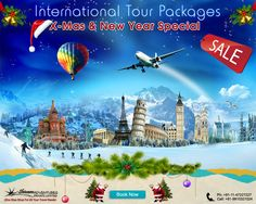 @ Special deal on X'mas and New year PKG booking. More details visit on http://www.shivamtravels.net/outbound-tours.htm #internationalholidays #xmasholidays #xmastour #xmasdeal #xmasoffers #newyearoffer #newyearpackage #newyearspecial