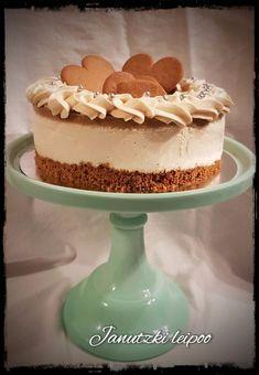 Piparirahkakakku - Janutzki Leipoo Sweet Recipes, Cake Recipes, Finnish Recipes, Cake Calories, Sweet And Salty, Cream Cake, Christmas Baking, Vegan Desserts, Cake Decorating