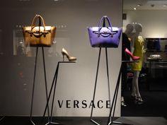 "VERSACE,Geneva,Switzerland, ""Because everyone loves a bit of window-shopping..."", pinned by Ton van der Veer"