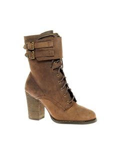 Chinese Laundry Beesun Heeled Lace Up Boots