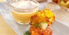 Kattints a képre, és olvasd el a receptet oldalunkon! Izu, Cantaloupe, Panna Cotta, Fruit, Ethnic Recipes, Food, Stew, Celery Recipes, Vegan Cake